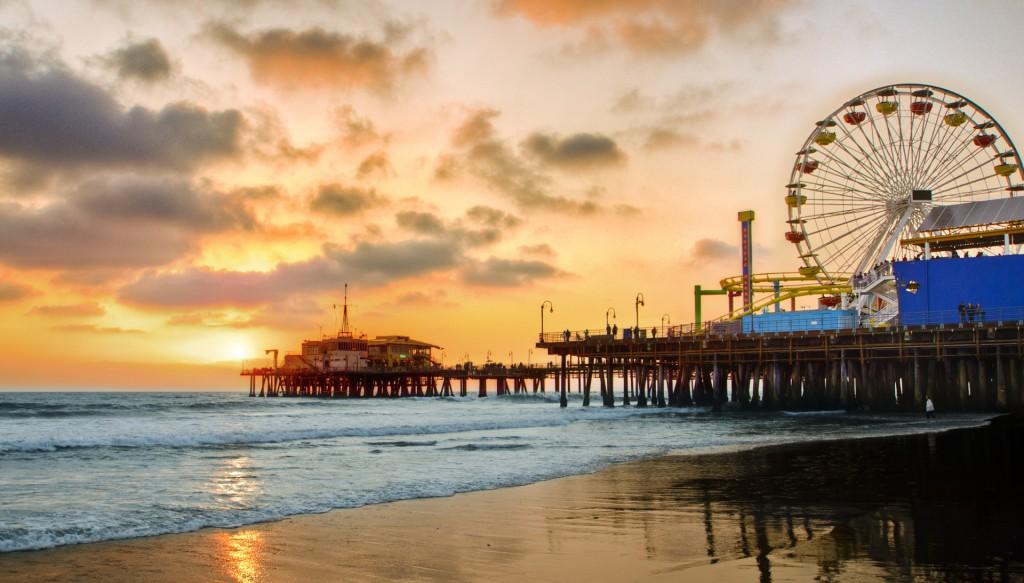 Santa Monica Sunrise 1